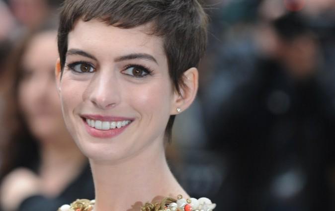 Anne Hathaway le 18 juillet 2012 à Londres