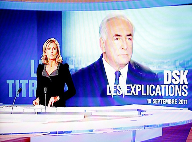 Dsk s'explique face aux français au journal de 20h
