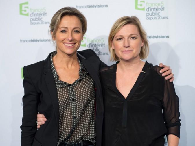 Anne-Sophie Lapix et Anne-Elisabeth Lemoine