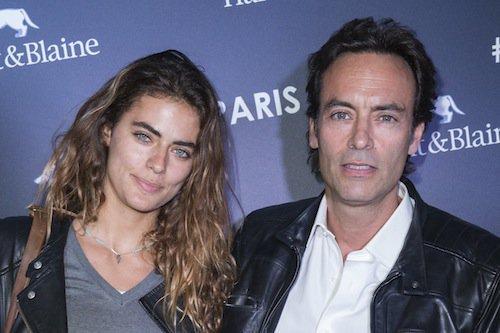 Anthony Delon et sa fille Alyson Le Borges à Paris en octobre 2015