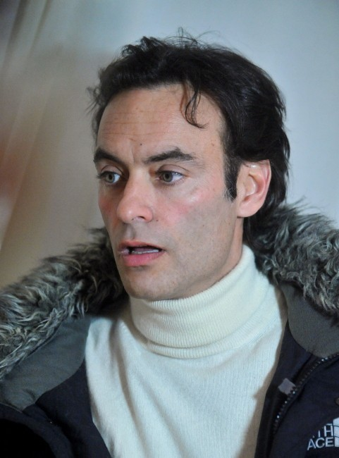 Anthony Delon le 19 janvier 2013 à Brno, en République Tchèque