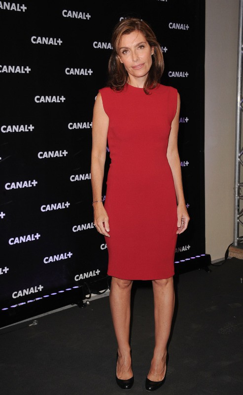 Daphné Roulier lors de la soirée Canal + à Paris, le 28 août 2013.
