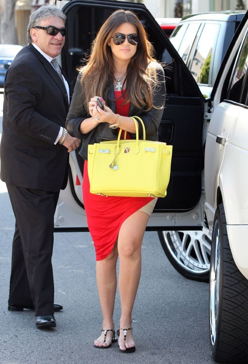 Khloe Kardashian à Hollywood, le 30 juin 2011.