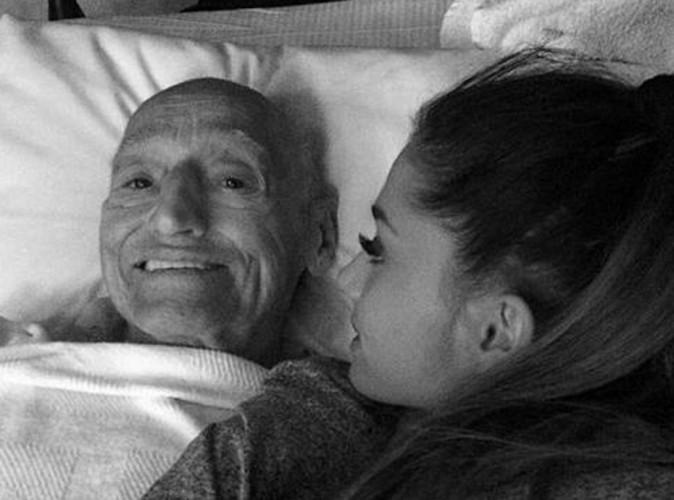 Ariana Grande : auprès de son grand-père adoré jusqu'à son dernier souffle...