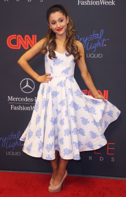 Ariana Grande lors de la soirée des Style Awards 2013 à New York, le 4 septembre 2013.