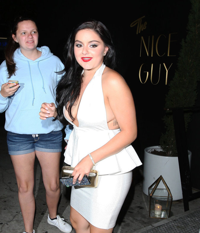 Ariel Winter au Nice Guy Club à Los Angeles le 12 juillet 2016