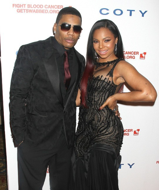 Nelly et Ashanti lors du Gala DKMS à New York, le 26 avril 2012.