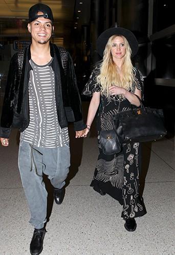 Ashlee Simpson et Evan Ross à Los Angeles le 12 septembre 2014