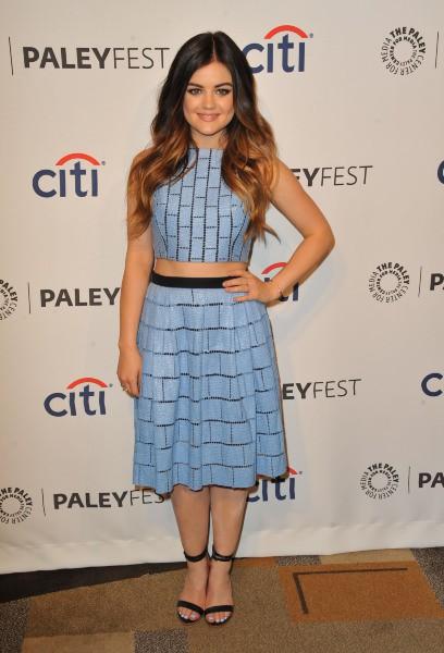 Lucy Hale lors du PaleyFest à Los Angeles, le 16 mars 2014.