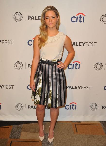 Sasha Pieterse lors du PaleyFest à Los Angeles, le 16 mars 2014.