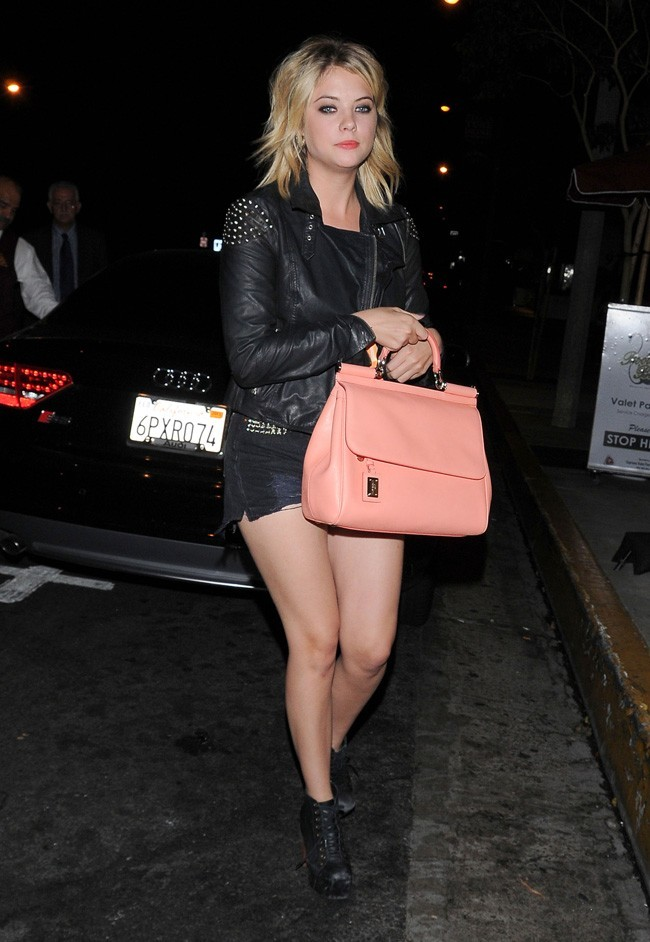 Ashley Benson le 20 septembre 2012 à Los Angeles