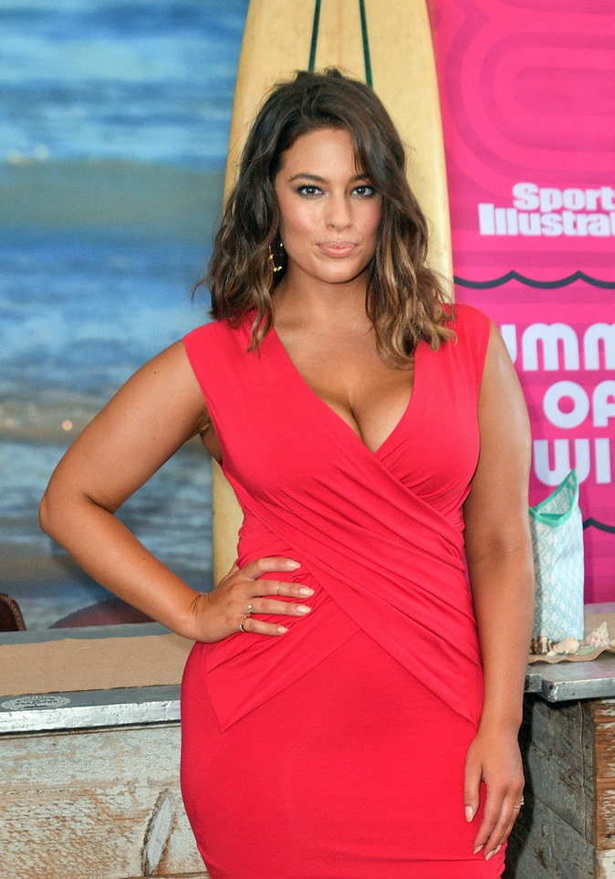 Ashley Graham à New York le 28 août 2016