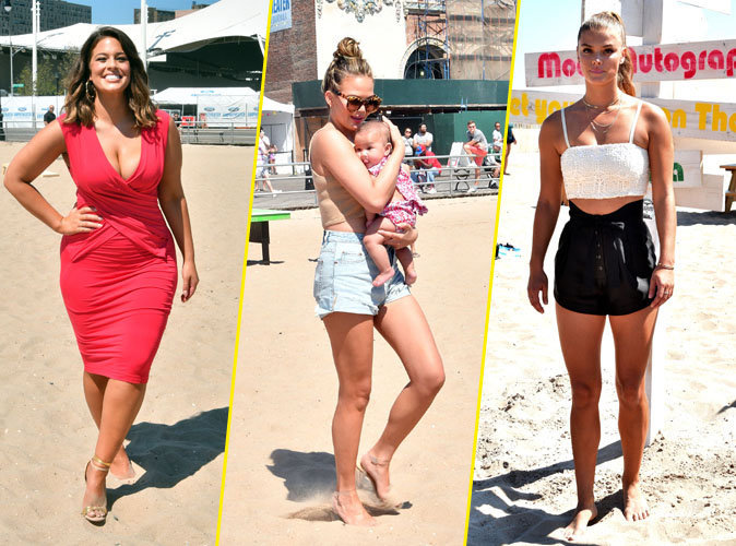 Photos : Ashley Graham, Chrissy Teigen, Nina Agdal : Quand les cover-girls de Sport Illustrated font le show à New York !