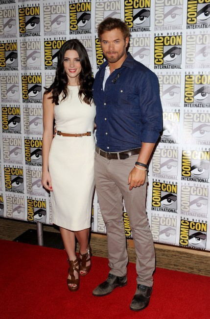 Ashley Greene et Kellan Lutz lors du Comic-Con 2012 à San Diego, le 12 juillet 2012.
