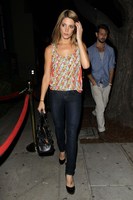 Ashley Greene à Los Angeles, le 7 août 2013.