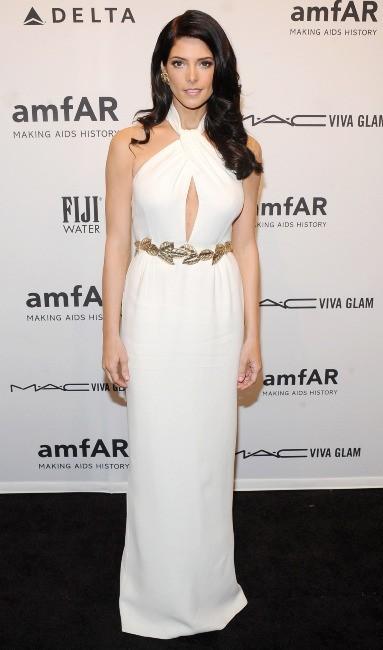 Ashley Greene lors du gala de l'amfAR à New York, le 6 février 2013.