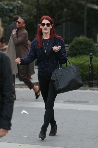Ashley Greene à New York, le 20 octobre 2012.