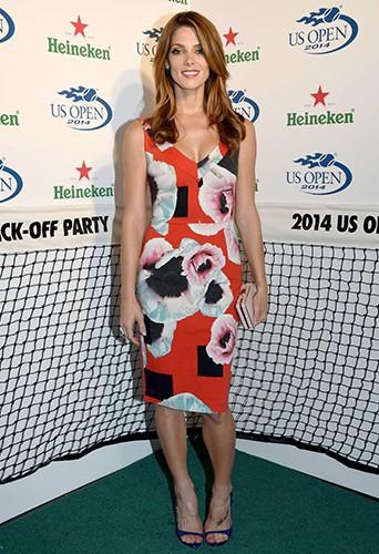 Ashley Greene à New York le 21 août 2014