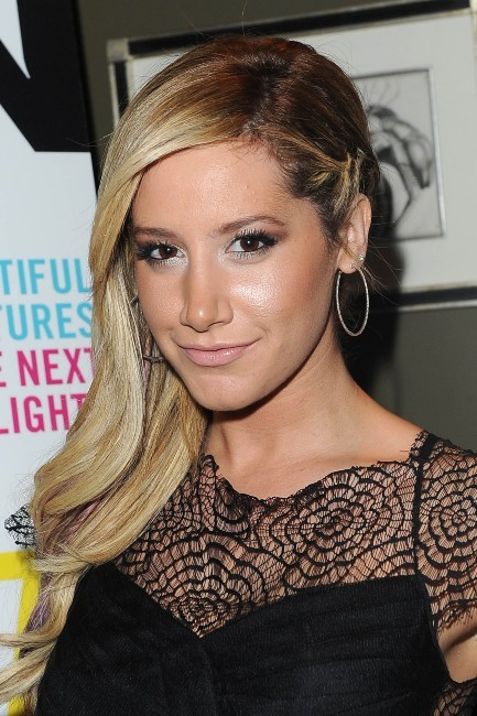 "Ashley Tisdale lors de la soirée ""Nylon Magazine and Coach party"" à Los Angeles, le 29 janvier 2013."