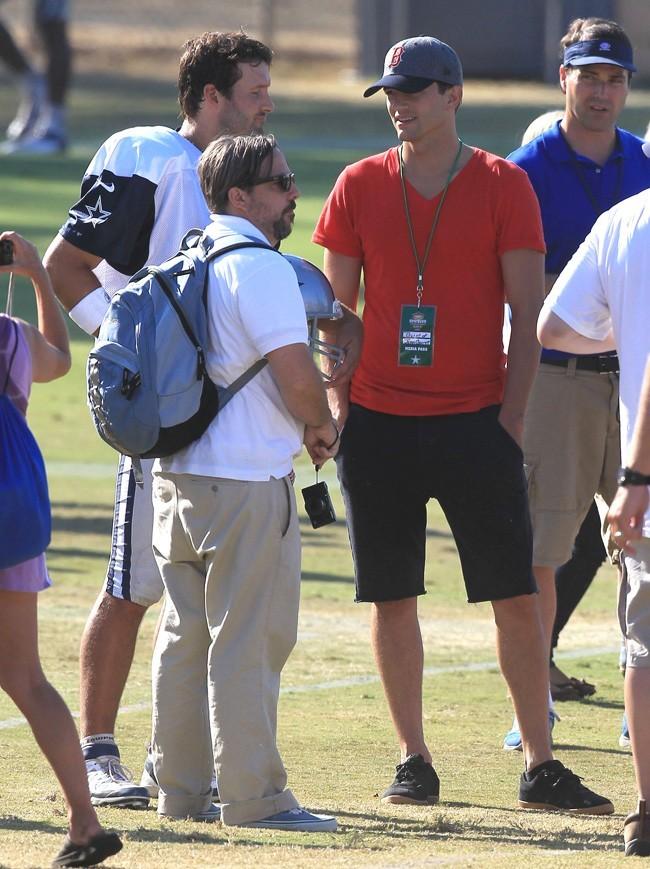 Ashton Kutcher le 11 août 2012 à Oxnard, en Californie