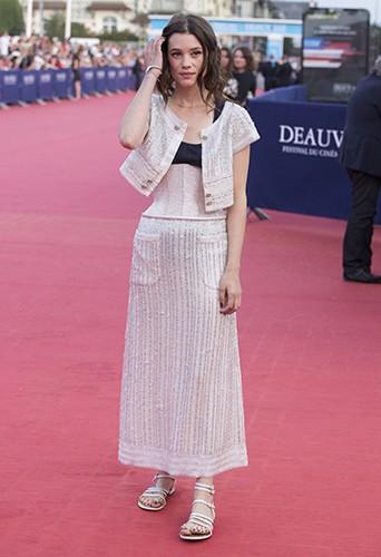 Astrid Bergès-Frisbey à Deauville le 13 septembre 2014