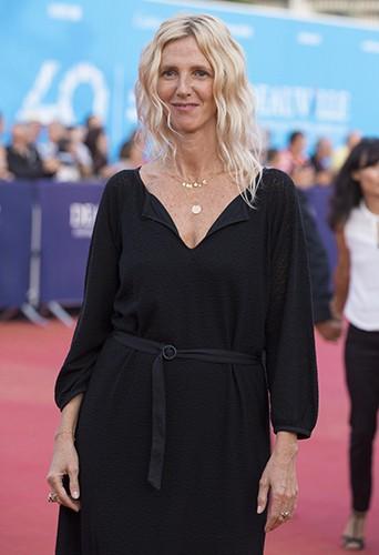 Sandrine Kimberlain à Deauville le 13 septembre 2014