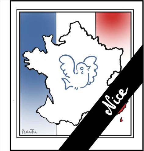 Le dessin de Plantu, diffusé sur son fil Twitter
