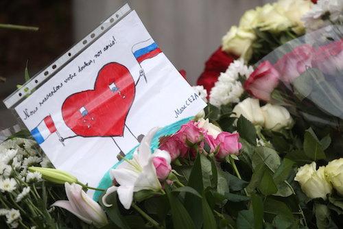 Hommage en Russie