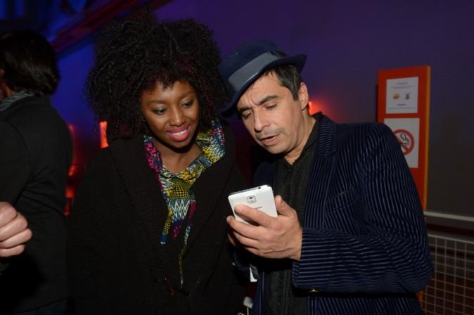 Inna Modja et Ariel Wizman à la soirée Smart