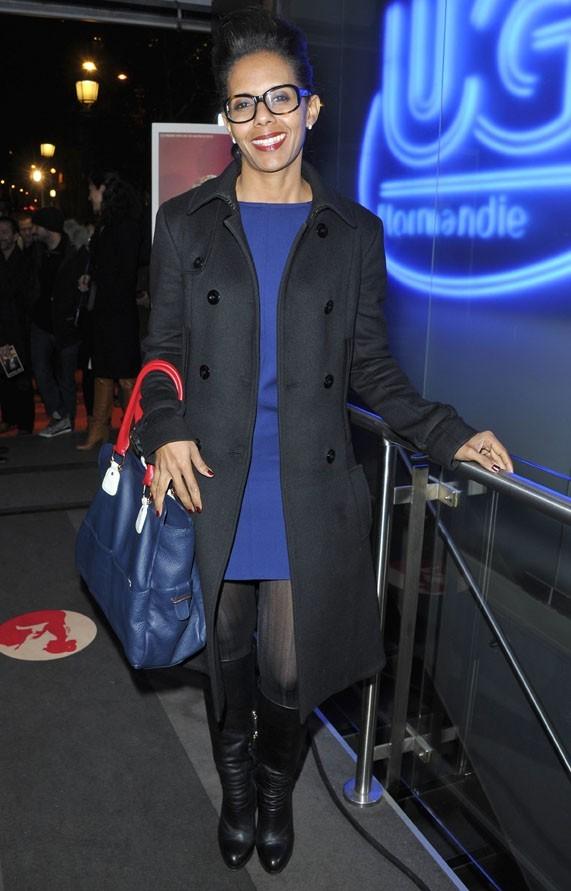 Audrey Pulvar à l'avant-première du film Populaire à Paris le 19 novembre 2012