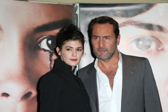 Audrey Tautou et Gilles Lellouche le 20 novembre 2012 à Paris