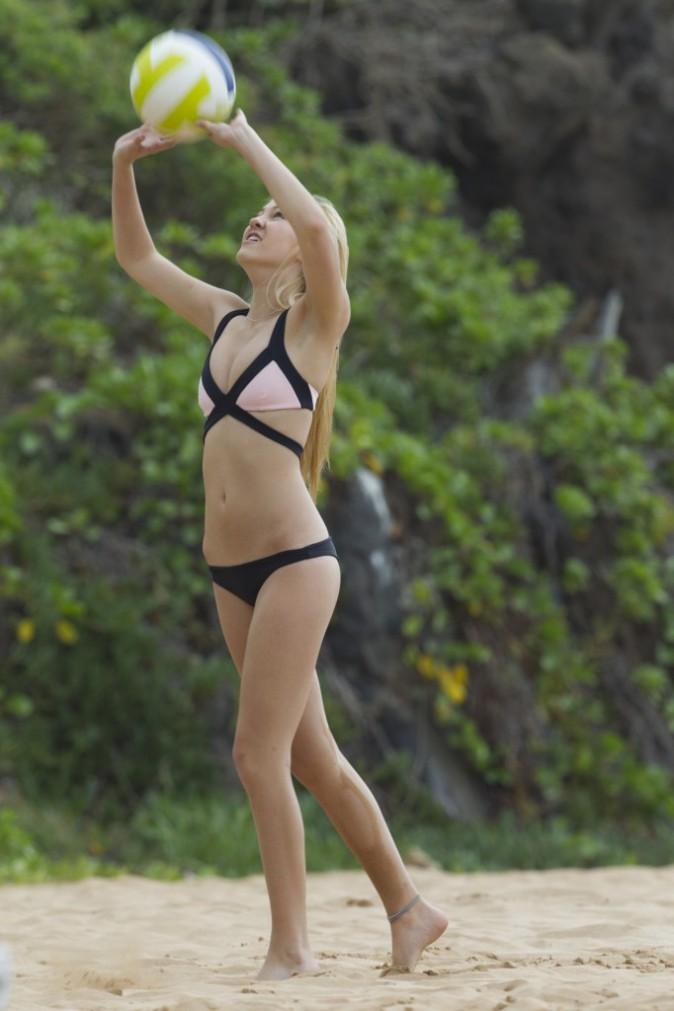 Ava Sambora a passé ses vacances de noël à la Barbade, décembre 2013