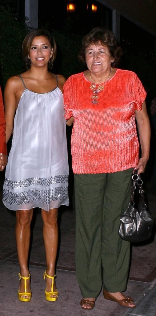 Eva Longoria et sa maman !