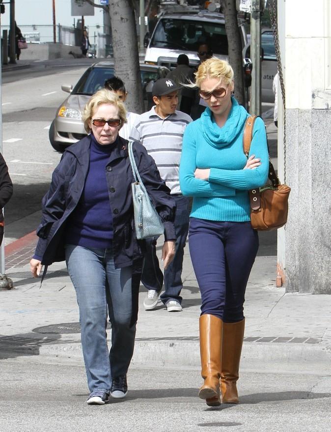 Katherine Heigl et sa maman Nancy !