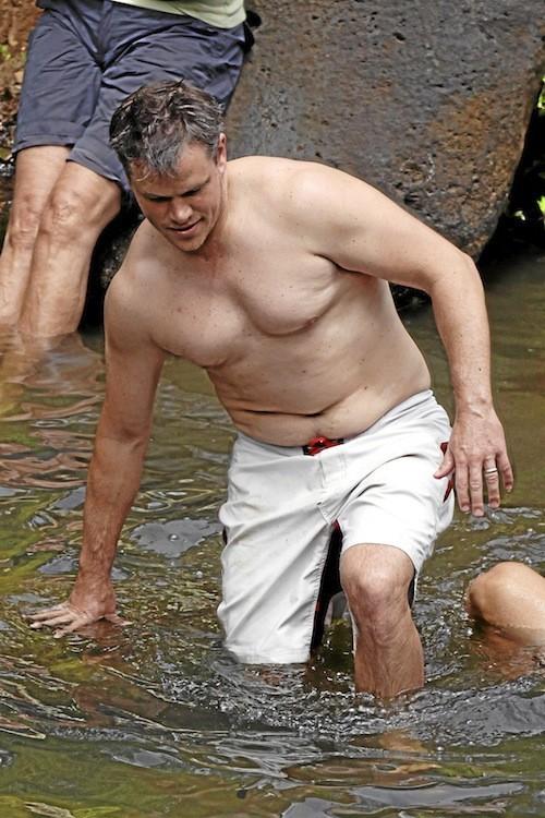 Matt Damon : HAWAII 10/07/10