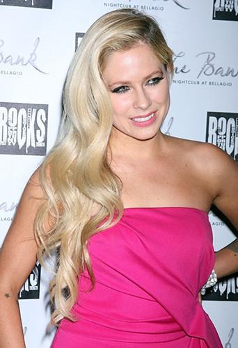 Avril Lavigne à Las Vegas le 27 septembre 2014