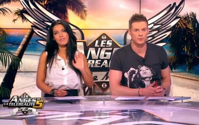 Ayem et Matthieu Delormeau pour les Anges de la Télé-Réalité 5