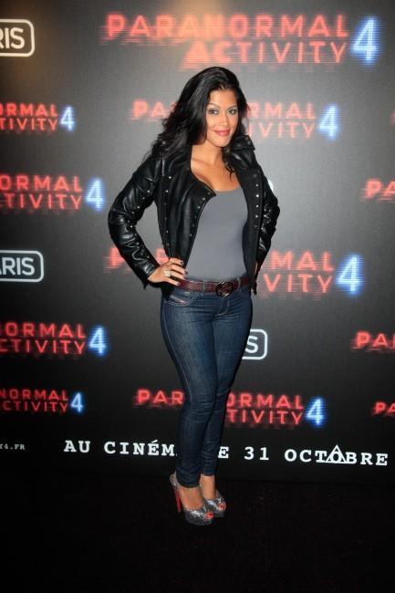 Ayem Nour le 19 octobre 2012 à Paris