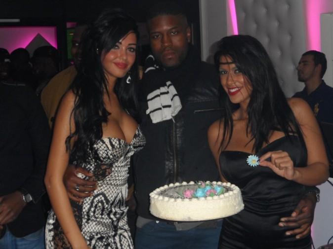 Nabilla et Ayem en soirée à Bezons, le 26 octobre 2012.