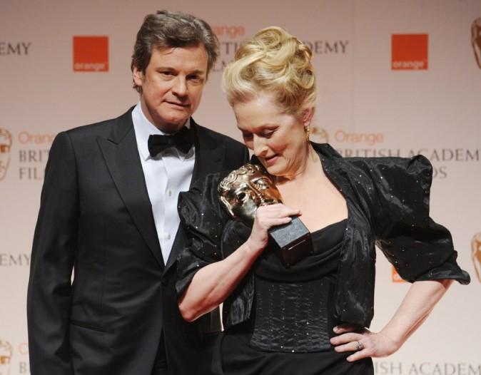 Meryl Streep et son prix de Meilleure actrice pour la Dame de Fer