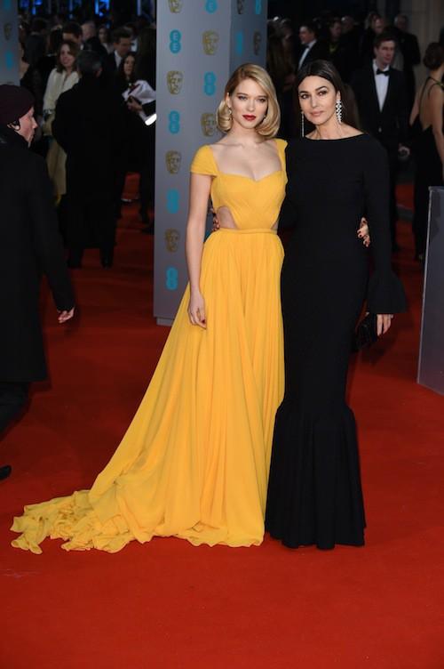 Photos : BAFTA 2015 : Léa Seydoux et Monica Bellucci : duo glamour de James Bond Girls... Tout le palmarès !