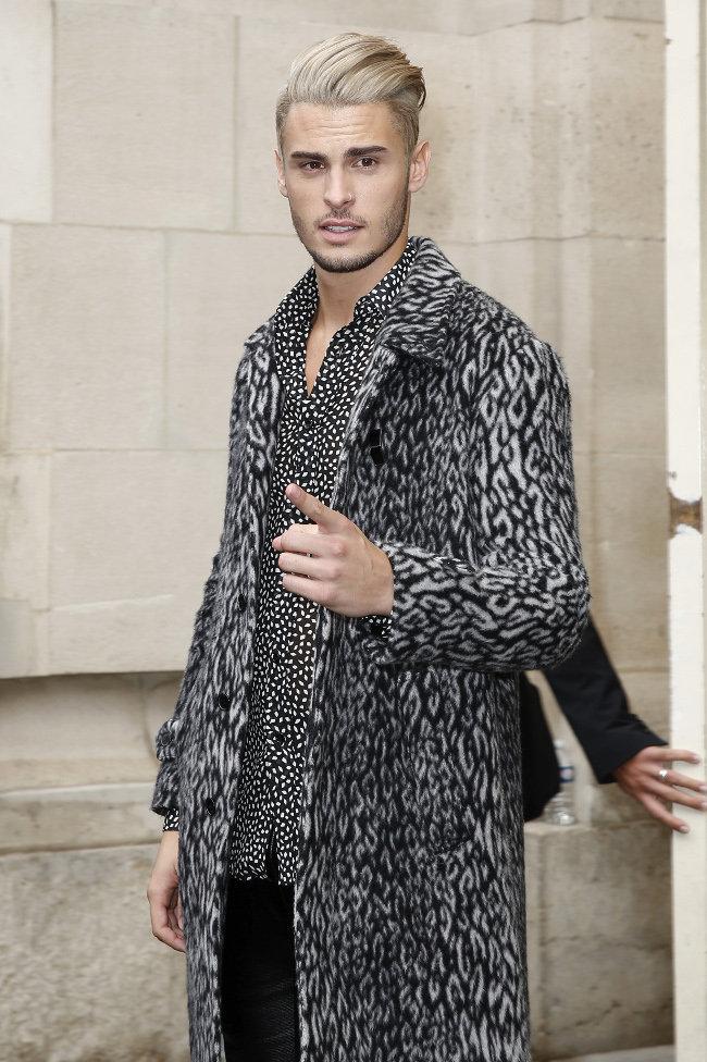 Baptiste Giabiconi le 6 octobre 2015 à Paris