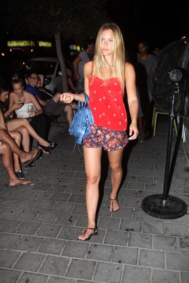 Bar Refaeli à Tel Aviv le 7 août 2012