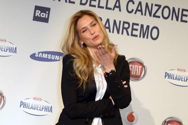 Bar Refaeli le 13 février 2013 à San Remo