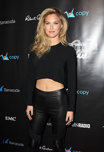 Bar Refaeli à New-York le 31 janvier 2014