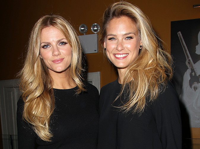 Brooklyn Decker et Bar Refaeli à New-York le 31 janvier 2014