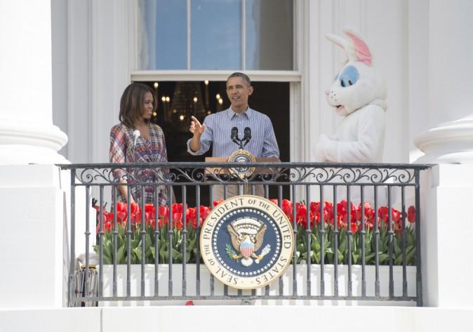 Photos : Barack et Michelle Obama : pour Pâques, ils ont mis le paquet !