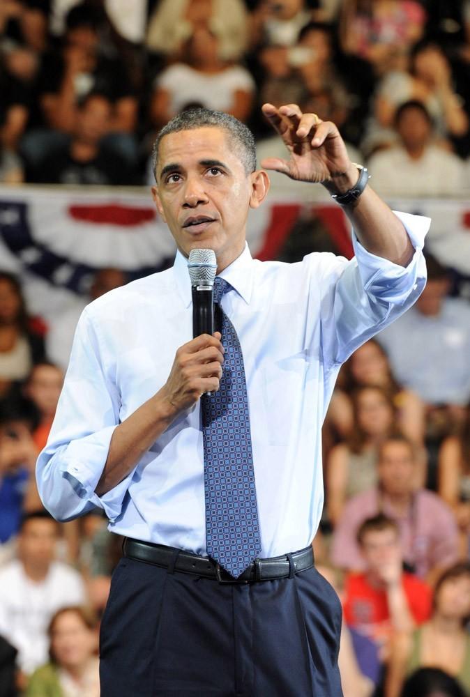 Barack Obama est le 44e président des Etats-Unis