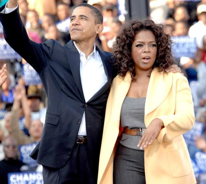 Obama a rencontré Oprah Winfrey