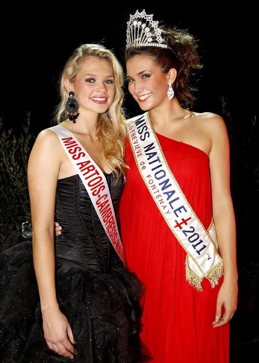 Avec Maud Schatteman, Miss Artois Cambresis-Hainaut